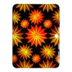 Stars Patterns Christmas Background Seamless Samsung Galaxy Tab 4 (10.1 ) Hardshell Case