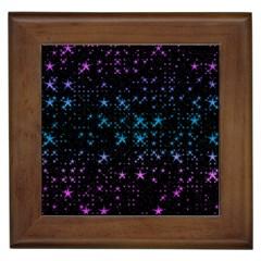 Stars Pattern Framed Tiles
