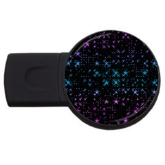 Stars Pattern USB Flash Drive Round (4 GB)