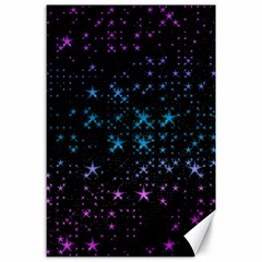 Stars Pattern Canvas 24  x 36