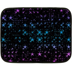 Stars Pattern Double Sided Fleece Blanket (Mini)