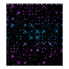 Stars Pattern Shower Curtain 66  x 72  (Large)