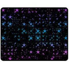 Stars Pattern Fleece Blanket (Medium)