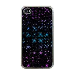 Stars Pattern Apple iPhone 4 Case (Clear)