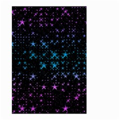 Stars Pattern Small Garden Flag (two Sides)