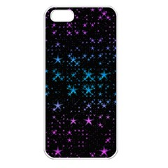 Stars Pattern Apple Iphone 5 Seamless Case (white)