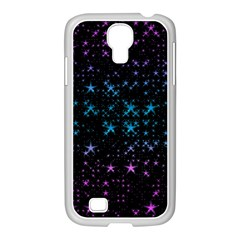 Stars Pattern Samsung Galaxy S4 I9500/ I9505 Case (white)