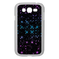 Stars Pattern Samsung Galaxy Grand Duos I9082 Case (white)