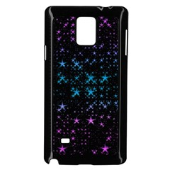 Stars Pattern Samsung Galaxy Note 4 Case (black)