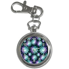 Stars Pattern Christmas Background Seamless Key Chain Watches