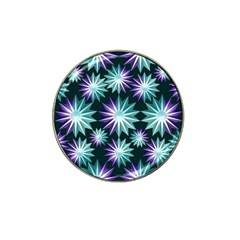 Stars Pattern Christmas Background Seamless Hat Clip Ball Marker (4 pack)