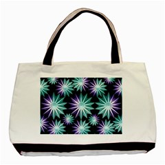 Stars Pattern Christmas Background Seamless Basic Tote Bag (two Sides)