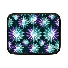 Stars Pattern Christmas Background Seamless Netbook Case (Small)