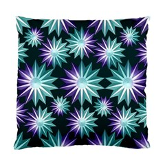 Stars Pattern Christmas Background Seamless Standard Cushion Case (Two Sides)