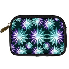 Stars Pattern Christmas Background Seamless Digital Camera Cases