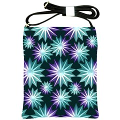 Stars Pattern Christmas Background Seamless Shoulder Sling Bags