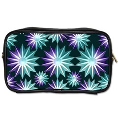 Stars Pattern Christmas Background Seamless Toiletries Bags 2-Side