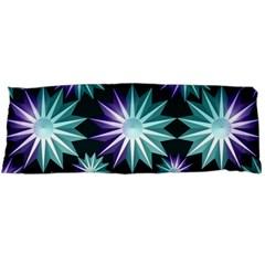 Stars Pattern Christmas Background Seamless Body Pillow Case Dakimakura (Two Sides)