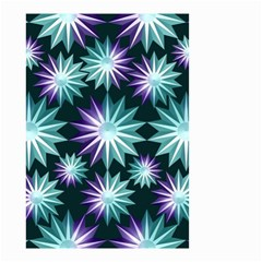 Stars Pattern Christmas Background Seamless Small Garden Flag (two Sides)
