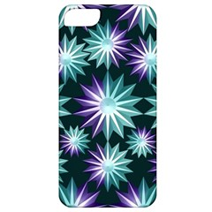 Stars Pattern Christmas Background Seamless Apple iPhone 5 Classic Hardshell Case