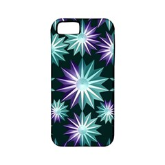Stars Pattern Christmas Background Seamless Apple iPhone 5 Classic Hardshell Case (PC+Silicone)