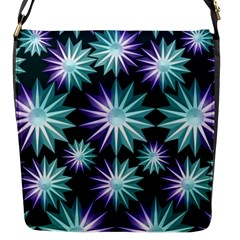 Stars Pattern Christmas Background Seamless Flap Messenger Bag (s)