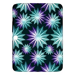 Stars Pattern Christmas Background Seamless Samsung Galaxy Tab 3 (10 1 ) P5200 Hardshell Case