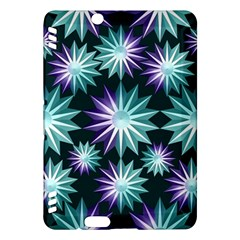 Stars Pattern Christmas Background Seamless Kindle Fire HDX Hardshell Case