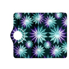 Stars Pattern Christmas Background Seamless Kindle Fire HDX 8.9  Flip 360 Case