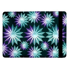 Stars Pattern Christmas Background Seamless Samsung Galaxy Tab Pro 12 2  Flip Case