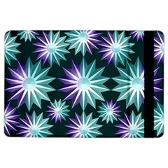 Stars Pattern Christmas Background Seamless Ipad Air 2 Flip