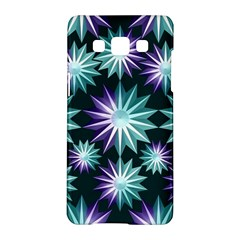 Stars Pattern Christmas Background Seamless Samsung Galaxy A5 Hardshell Case