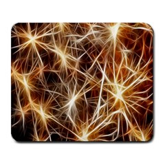 Star Golden Christmas Connection Large Mousepads