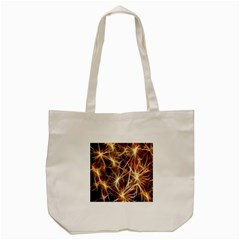 Star Golden Christmas Connection Tote Bag (Cream)