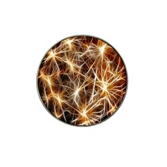 Star Golden Christmas Connection Hat Clip Ball Marker (10 pack)