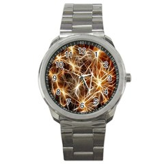 Star Golden Christmas Connection Sport Metal Watch