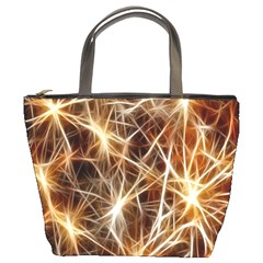 Star Golden Christmas Connection Bucket Bags