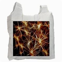 Star Golden Christmas Connection Recycle Bag (One Side)