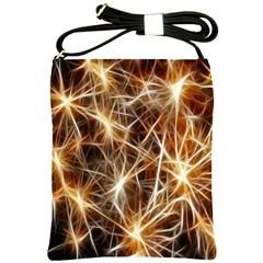 Star Golden Christmas Connection Shoulder Sling Bags