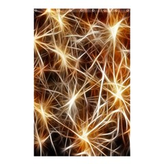 Star Golden Christmas Connection Shower Curtain 48  X 72  (small)