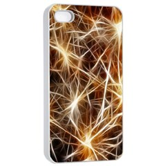 Star Golden Christmas Connection Apple Iphone 4/4s Seamless Case (white)