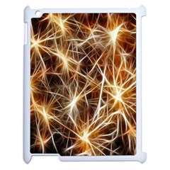 Star Golden Christmas Connection Apple iPad 2 Case (White)