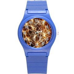 Star Golden Christmas Connection Round Plastic Sport Watch (s)