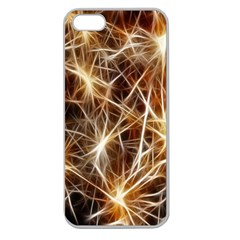 Star Golden Christmas Connection Apple Seamless Iphone 5 Case (clear)
