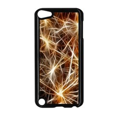 Star Golden Christmas Connection Apple Ipod Touch 5 Case (black)