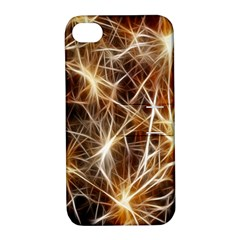 Star Golden Christmas Connection Apple Iphone 4/4s Hardshell Case With Stand