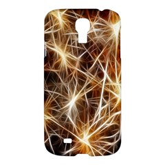 Star Golden Christmas Connection Samsung Galaxy S4 I9500/I9505 Hardshell Case