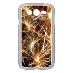 Star Golden Christmas Connection Samsung Galaxy Grand Duos I9082 Case (white)