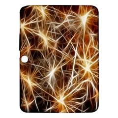 Star Golden Christmas Connection Samsung Galaxy Tab 3 (10 1 ) P5200 Hardshell Case