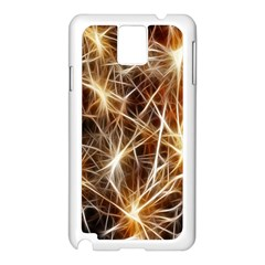 Star Golden Christmas Connection Samsung Galaxy Note 3 N9005 Case (white)
